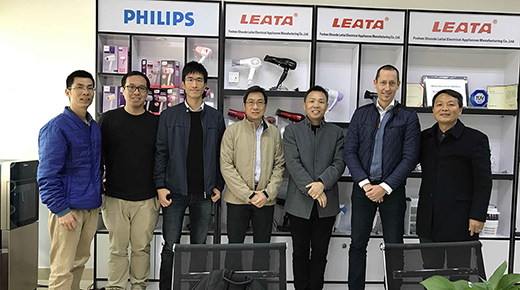 Philips Quality Department executives to Shunde Leitai annual business meeting
